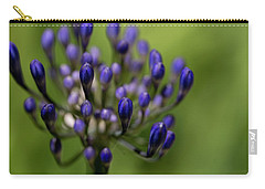 Carry-all Pouch featuring the photograph Floral Bits by Lora Lee Chapman