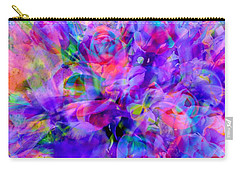 Floral Bouquet Abstract Carry-all Pouch