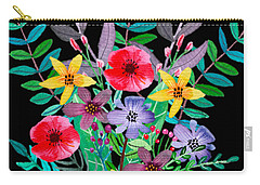 Just Flora Carry-all Pouch