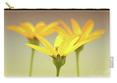 Carry-all Pouch featuring the photograph Floral Brilliance by Anita Oakley