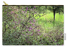 Floral Bush Carry-all Pouch by Sumit Mehndiratta