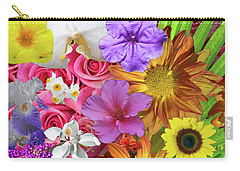 Floral Collage 01 Carry-all Pouch