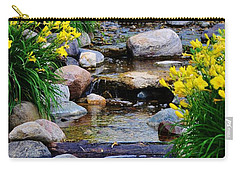 Floral Creek Carry-all Pouch