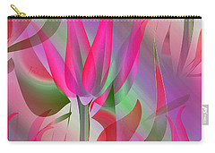 Floral Display 3 Carry-all Pouch by Iris Gelbart