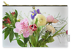 Carry-all Pouch featuring the photograph Floral Display by Wendy Wilton