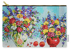 Floral Fantasy Carry-all Pouch by Alexandra Maria Ethlyn Cheshire