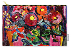 Floral Fiesta With Hola Carry-all Pouch