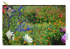 Carry-all Pouch featuring the photograph Floral Flow by Glenn McCarthy