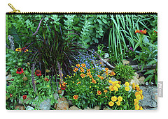 Floral Happiness Carry-all Pouch