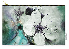 Floral Haze Carry-all Pouch