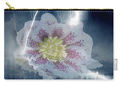 Floral Lightning Reflections Carry-all Pouch