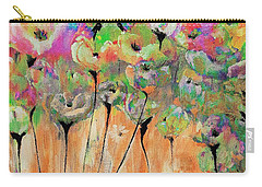 Floral Moments Painting By Lisa Kaiser Carry-all Pouch