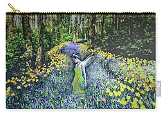 Floral Path Carry-all Pouch