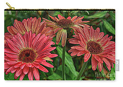 Carry-all Pouch featuring the photograph Floral Pink by Deborah Benoit