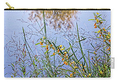 Floral Pond  Carry-all Pouch