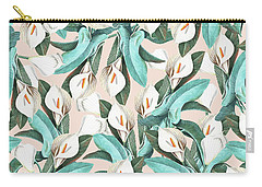 Floral Porn Carry-all Pouch