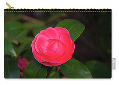Carry-all Pouch featuring the painting Floral Print 097 by Chris Flees