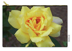 Carry-all Pouch featuring the painting Floral Print 102 by Chris Flees
