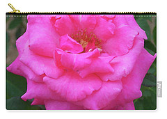 Carry-all Pouch featuring the painting Floral Print 106 by Chris Flees