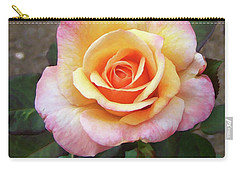 Carry-all Pouch featuring the painting Floral Print 108 by Chris Flees