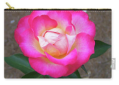 Carry-all Pouch featuring the painting Floral Print 109 by Chris Flees