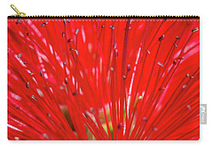 Floral Red Carry-all Pouch