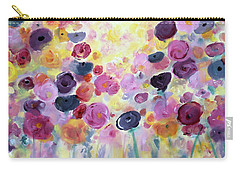 Floral Splendor IIi Carry-all Pouch