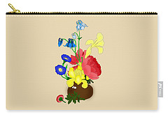 Floral Still Life 1674 Carry-all Pouch