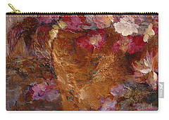 Floral Still Life Pinks Carry-all Pouch