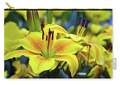 Floral Sunshine Carry-all Pouch