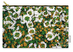 Floral Texture In The Summer Carry-all Pouch