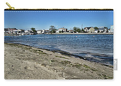 Florance Beach Park Carry-all Pouch by Mikki Cucuzzo