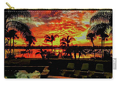Floridian Iconic Sunset Carry-all Pouch