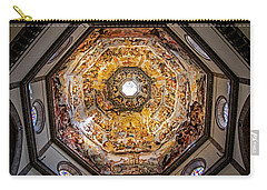 Carry-all Pouch featuring the photograph Florence Cathedral by Jean Haynes