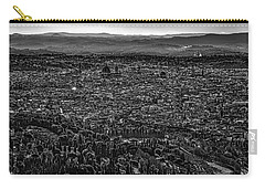 Carry-all Pouch featuring the photograph Florence From Fiesole by Sonny Marcyan