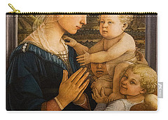 Florence - Madonna And Child With Angels- Filippo Lippi Carry-all Pouch