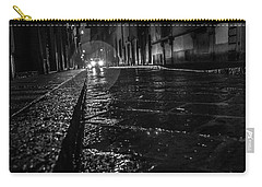 Carry-all Pouch featuring the photograph Florence Nights by Sonny Marcyan