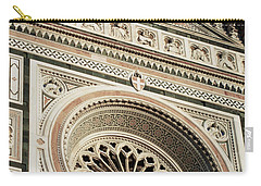 Carry-all Pouch featuring the photograph Florence by Silvia Bruno