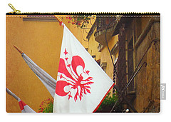 Florentine Flag Carry-all Pouch by Valerie Reeves
