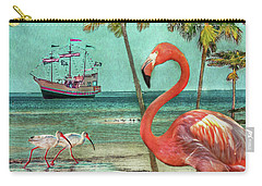 Carry-all Pouch featuring the photograph Florida Advertisement by Hanny Heim