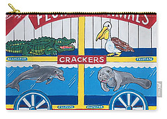 Florida Animal Crackers Carry-all Pouch
