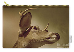 Carry-all Pouch featuring the photograph Florida Deer by Judy Hall-Folde