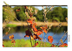 Florida Fall Leaves Carry-all Pouch