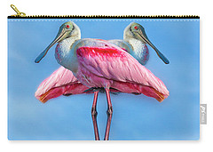Florida Keys Roseate Spoonbill Carry-all Pouch