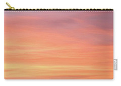 Carry-all Pouch featuring the photograph Florida Keys Sunset Impressions by Louise Lindsay