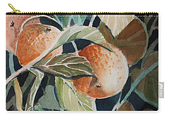 Florida Oranges Carry-all Pouch by Mindy Newman