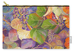Florida Sea Grape Tree Carry-all Pouch