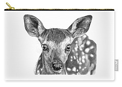 Florry The Fawn Carry-all Pouch by Abbey Noelle
