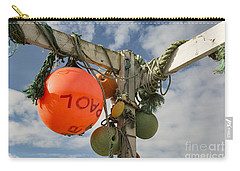 Carry-all Pouch featuring the photograph Flotsam And Jetsam by Brian Roscorla
