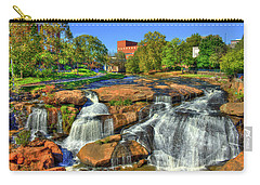 Flow On Reedy River Falls Park Art Greenville South Carolina Art Carry-all Pouch